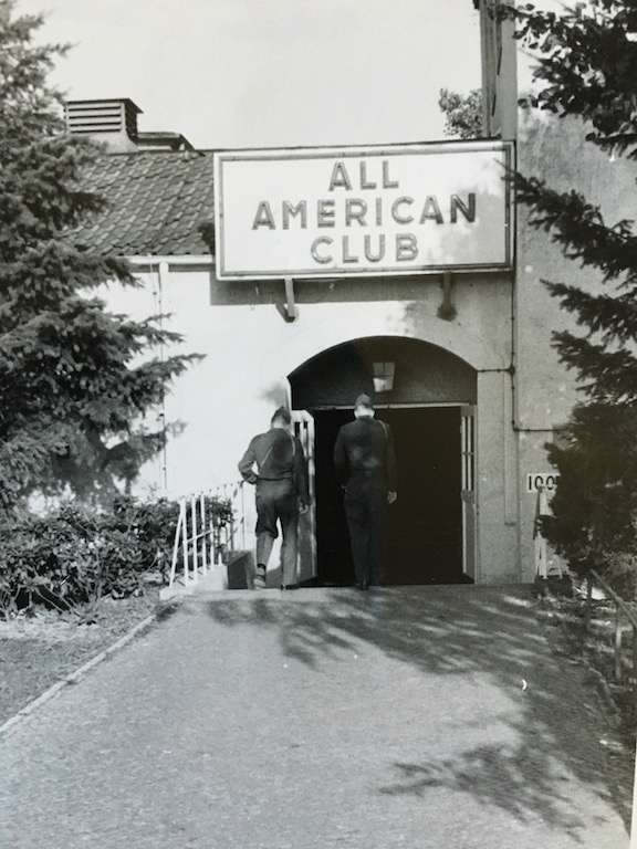 All American Club, McNair Barracks, West Berlin
