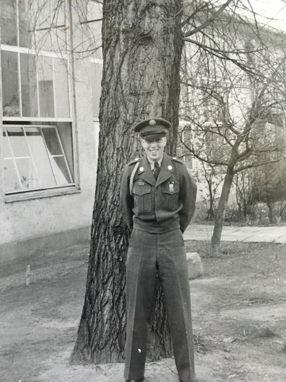 Jimmie Lee Collester in uniform